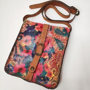 Patricia Nash Venezia Pouch Crossbody Handbag